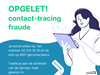 opgelet met contact-tracing-fraude